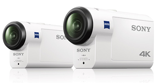 Sony FDR-X3000 a HDR-AS300