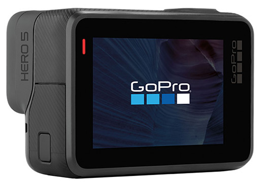 GoPro Hero5 Black displej