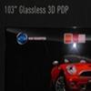 """Panasonic představil 103"""" bezbrýlovou 3D TV"""